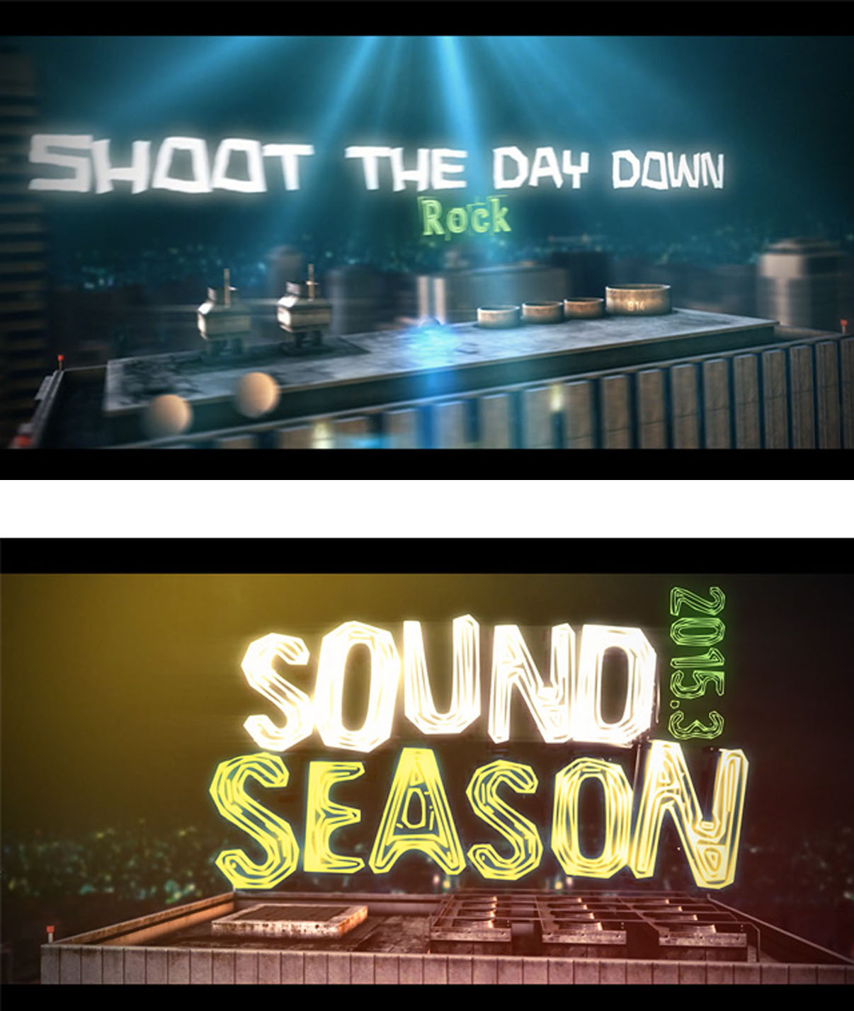 Stills aus Trailer SoundSeason